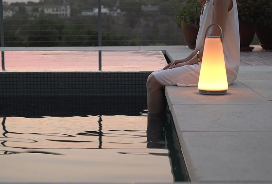 UMA mimics the shape of an old fashioned oil lamp