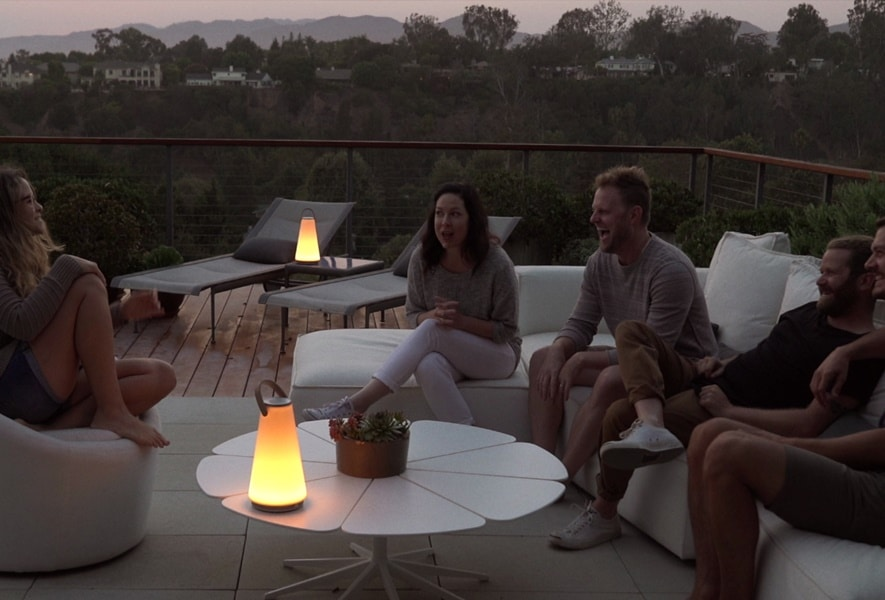 Pablo Design's new revolutionary Sound Lantern, UMA, changes the definition of a modern age lantern