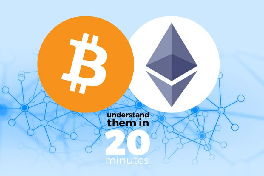 Understand the Blockchain, Ethereum and Bitcoin in 20 minutes