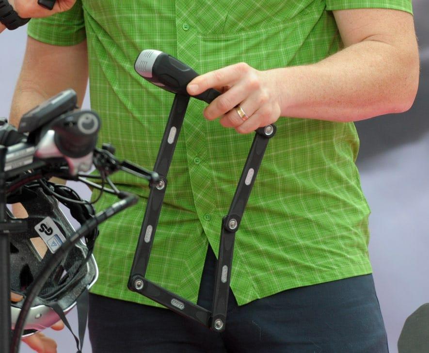 EUROBIKE 2018 Bike Lock with Alarm