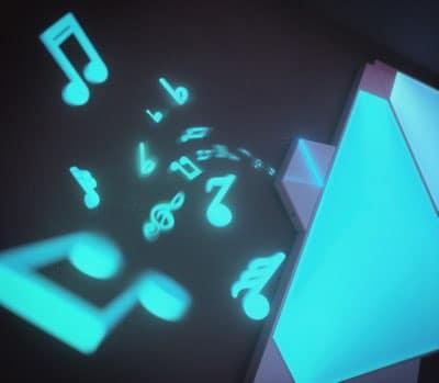 Nanoleaf Rhythm closeup