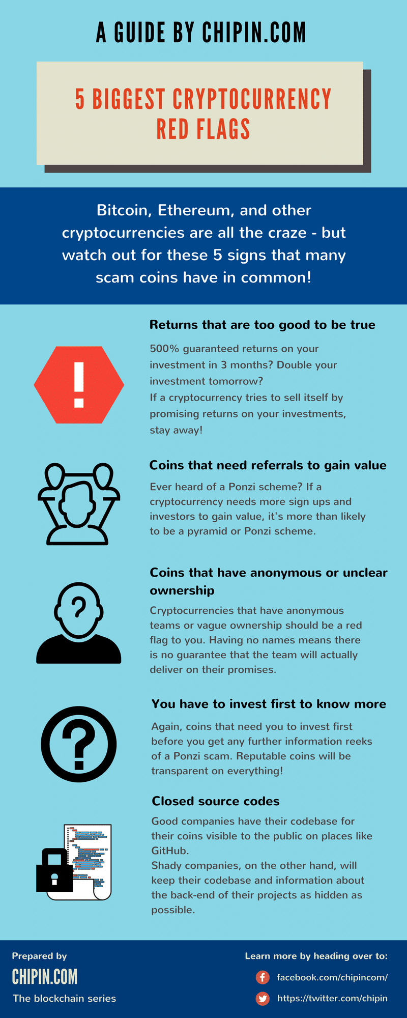 Here are 6 red flags to spot if you are unsure of whether a coin is legit or not.