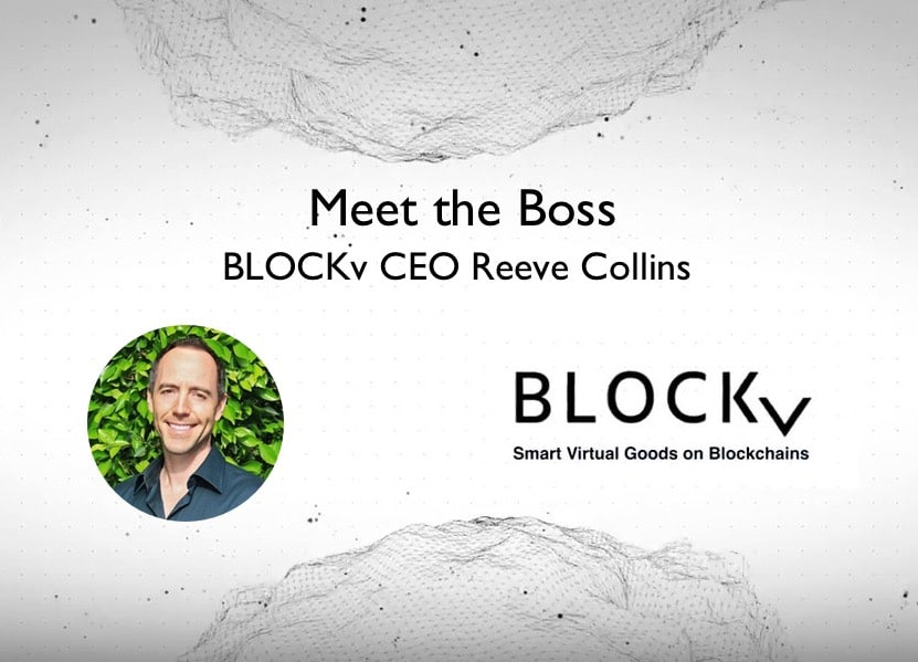 Blockv CEO Reeve Collins Interview