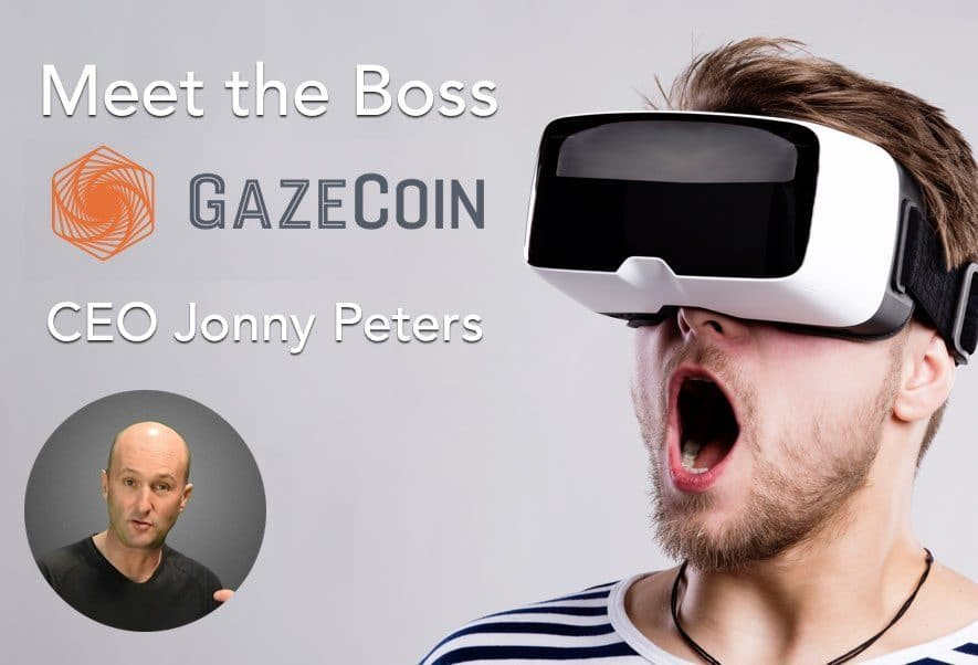 Jonny Peters CEO Gaze Coin Interview