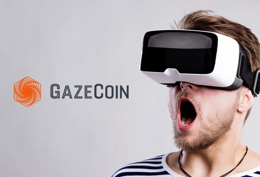 Gaze Coin ICO Virtual Reality