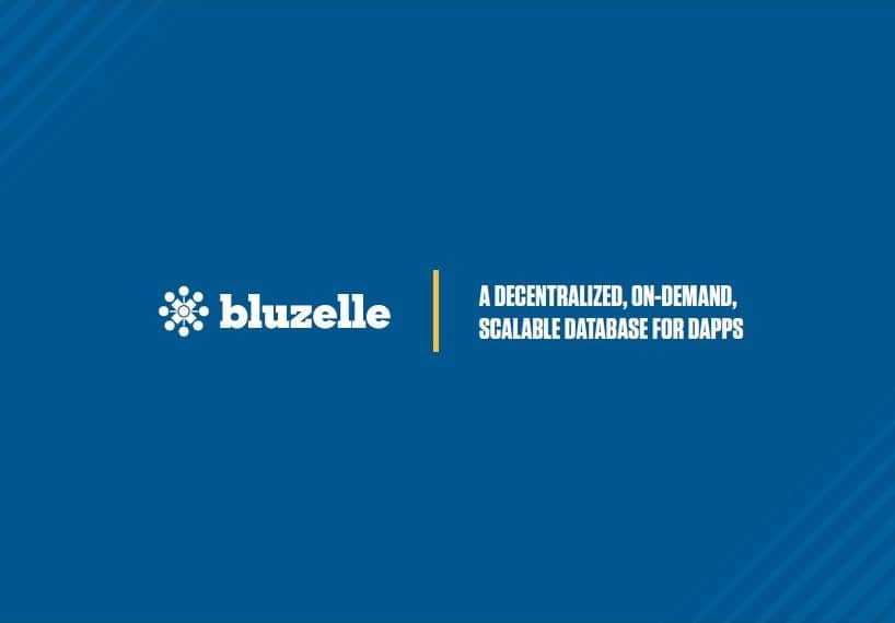 bluzelle decentralized database ico