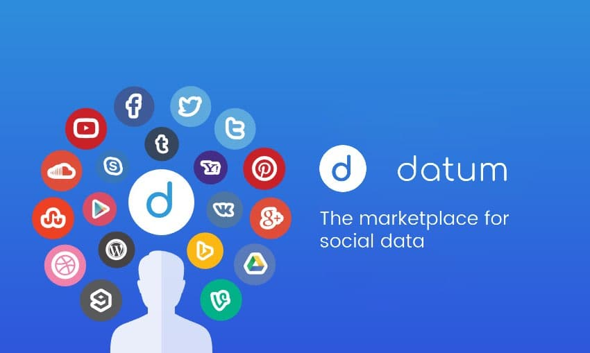 datum ico marketplace social data