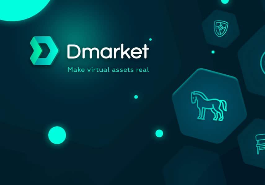 dmarket in game marketplace blockchain
