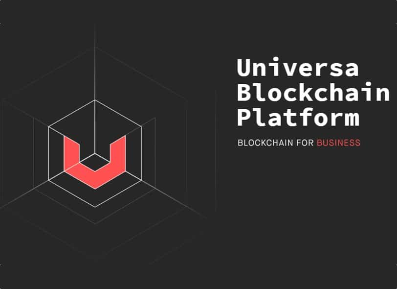 universa blockchain platform business