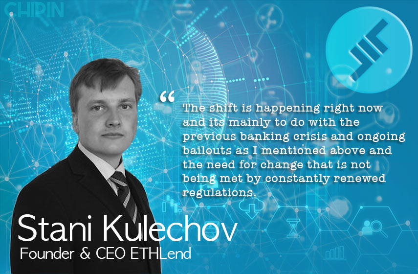 ETHLend Stani Kulechov Interview