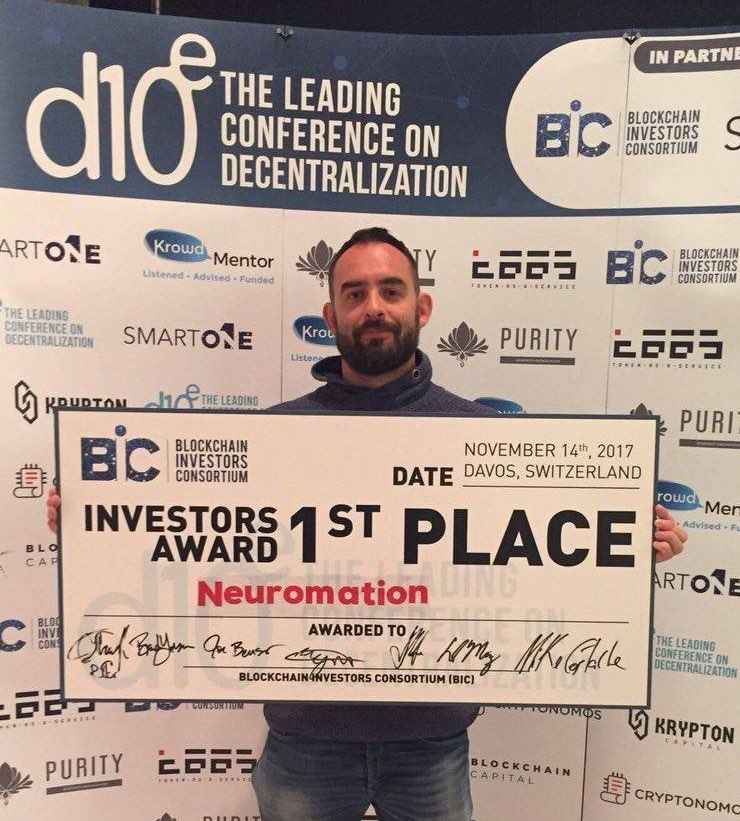 Neuromation D10E Conference Winner