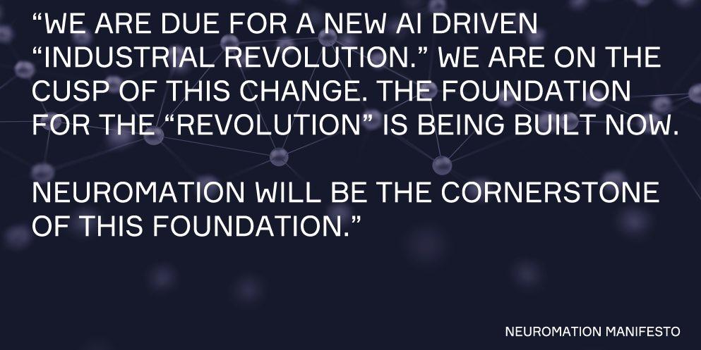 Neuromation Manifesto
