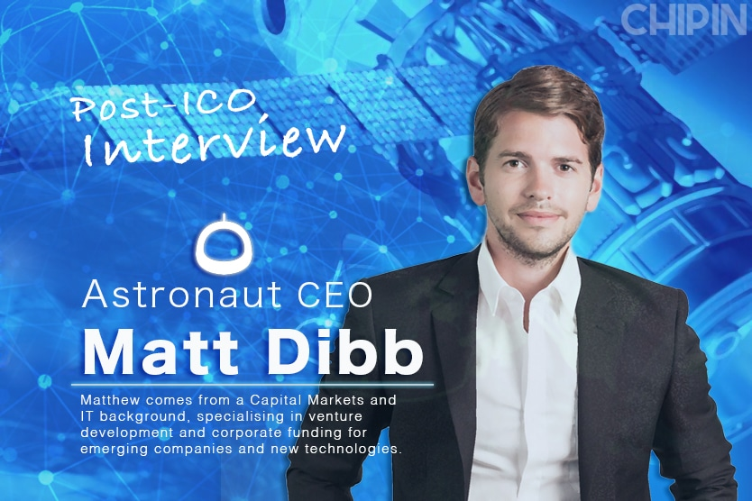 Post ICO Interview Astronaut CEO Matt Dibb