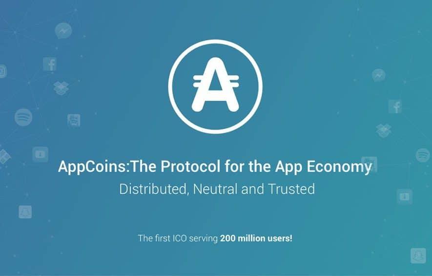 appcoins ico app economy