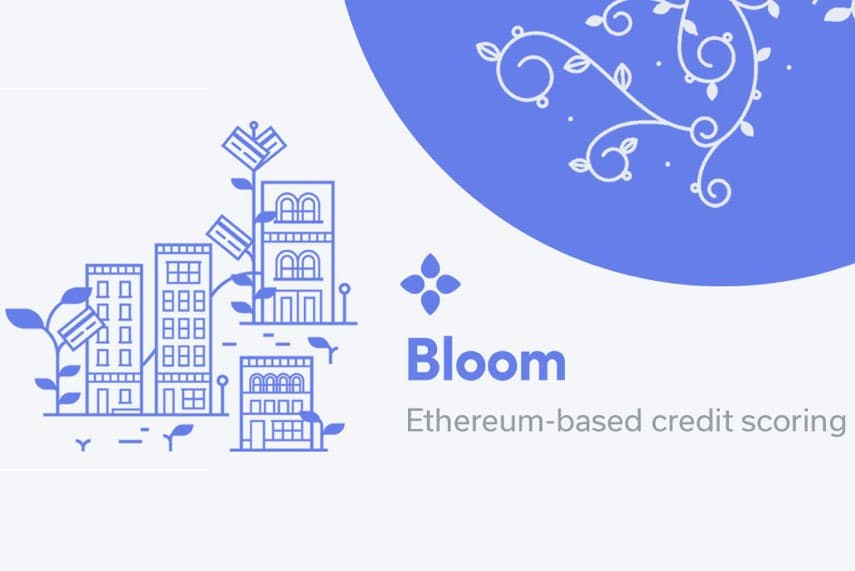 bloom ico blockchain credit scoring