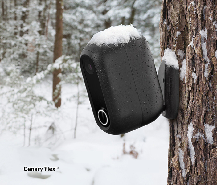 canary-flex security camera