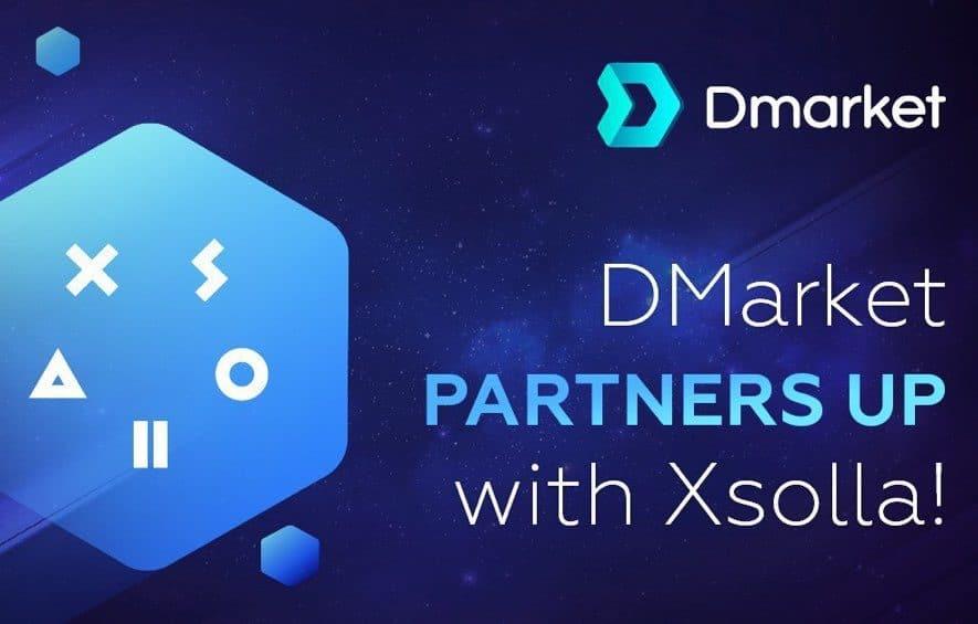 dmarket xsolla partnership