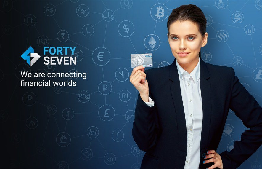 forty seven ico bank crypto fiat