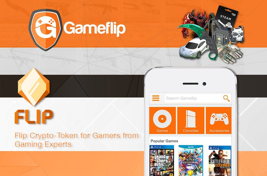 gameflip blockchain gamers trading