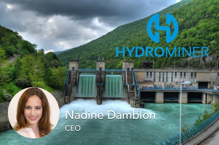 hydrominer interview nadine damblon