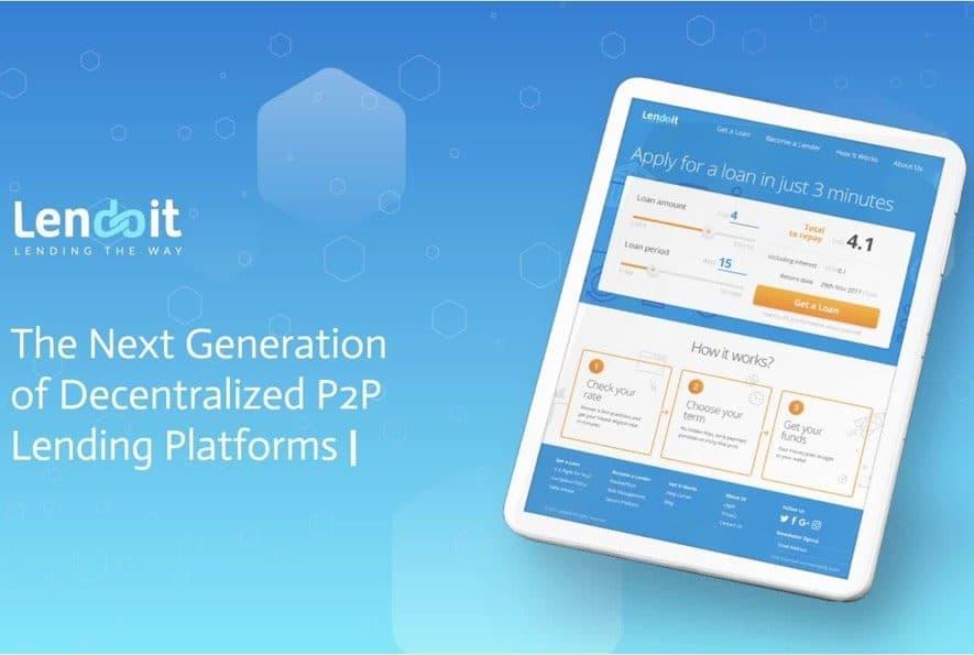 lendoit decentralized p2p platform ico