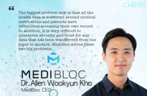 medibloc dr Allen Wookyun kho Interview Blockchain
