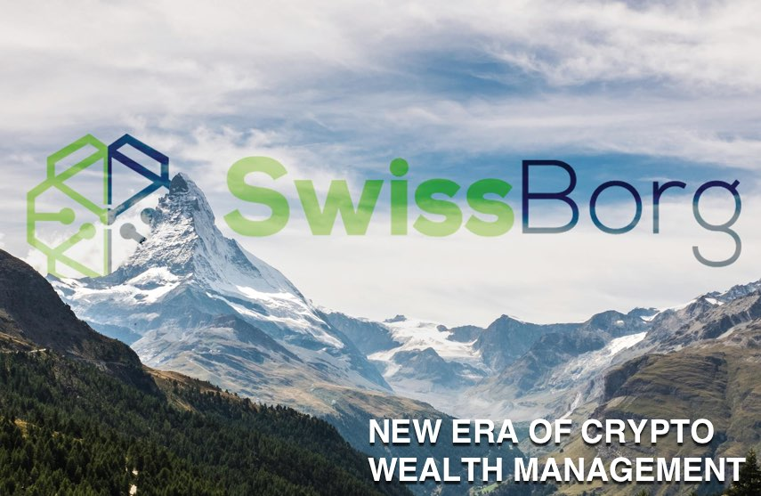 swissborg ico crypto wealth management