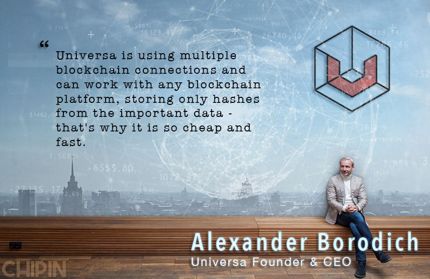 Alexander Borodich Universa CEO Interview