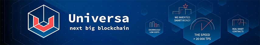 universa next big blockchain