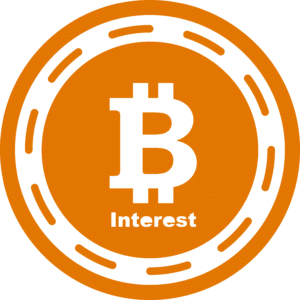 bitcoin interest logo