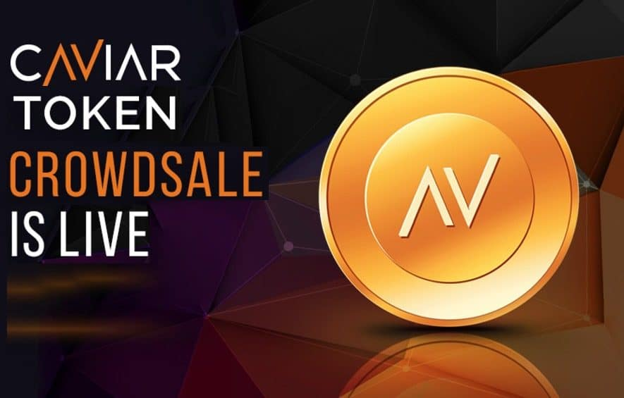 caviar ico real estate cryptocurrency