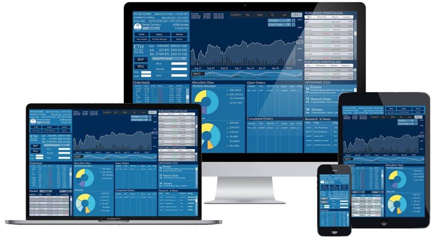 coinlion ico trading platform