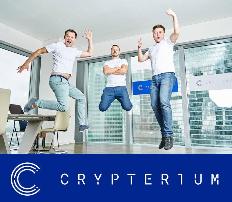 crypterium COO Gleb Markov interview