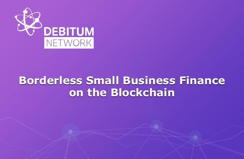 debitum network ico small business finance