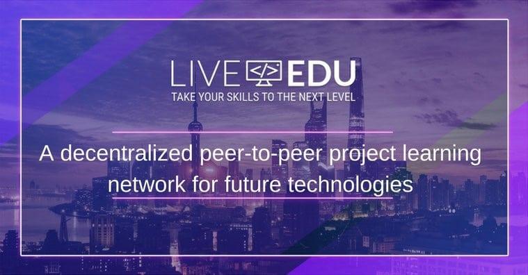 liveedu ico project learning