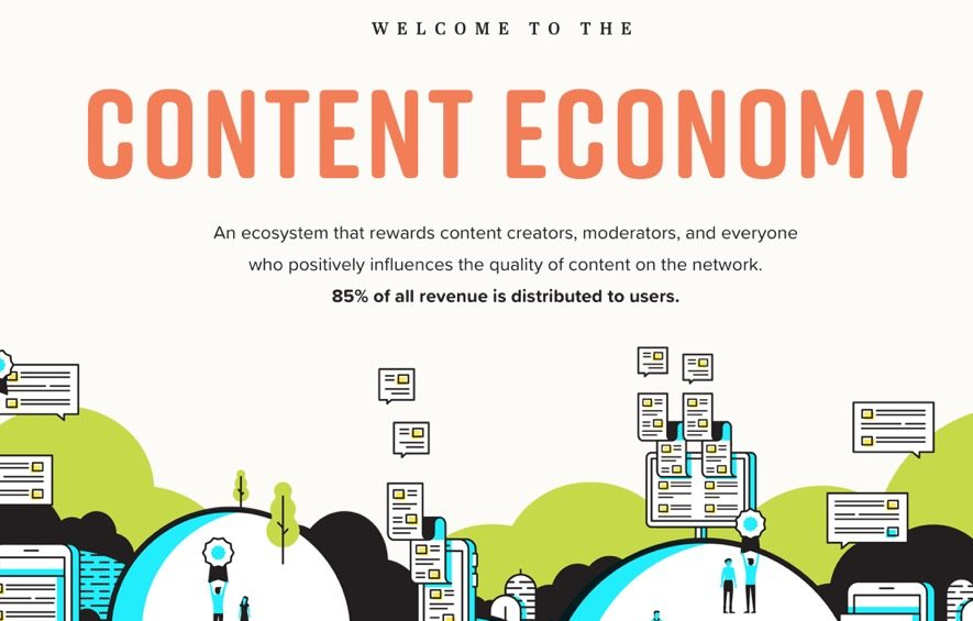 narrative content economy