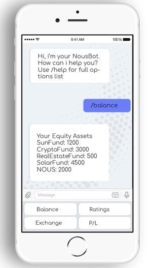 nousplatform app