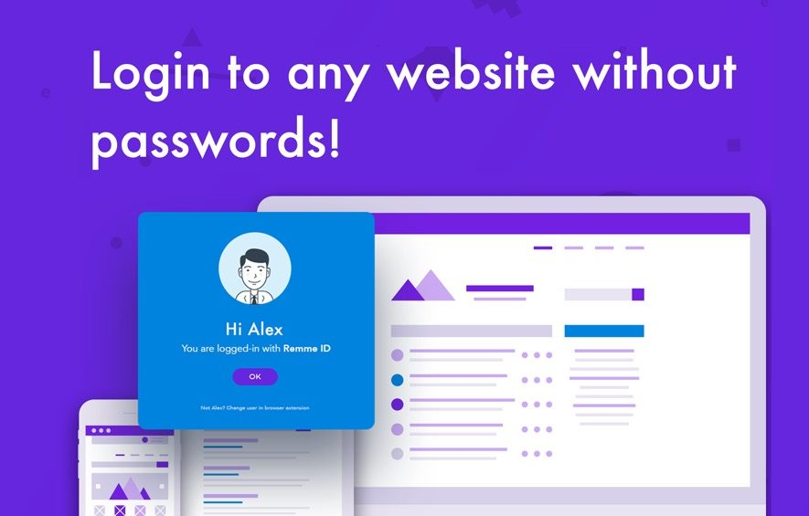 remme ico no passwords blockchain