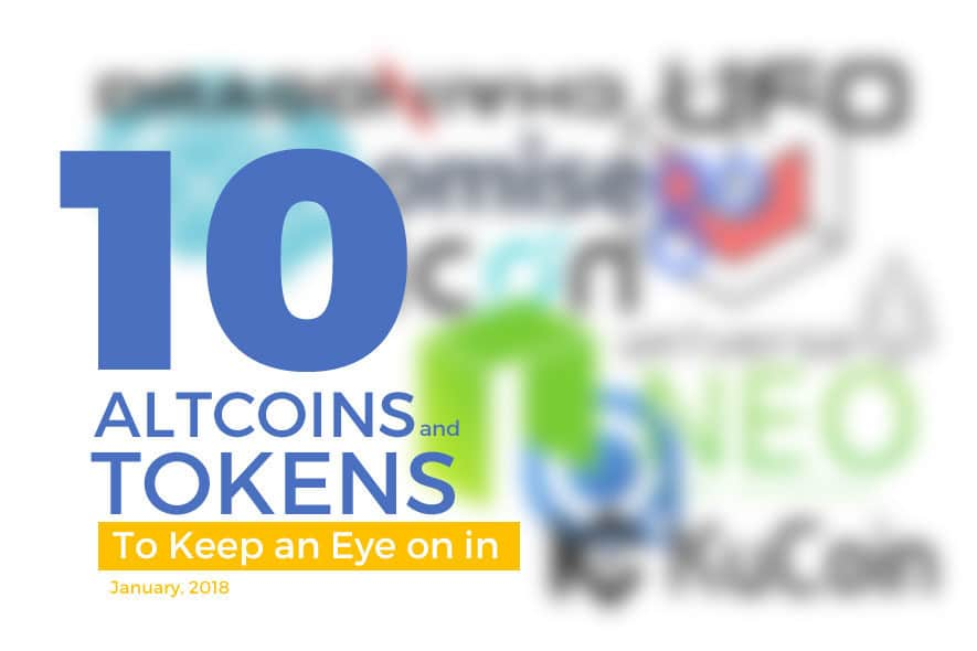 10 Altcoins and Tokens To Keep an Eye on