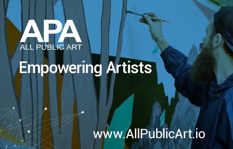 APA Allpublicart ico artists market blockchain