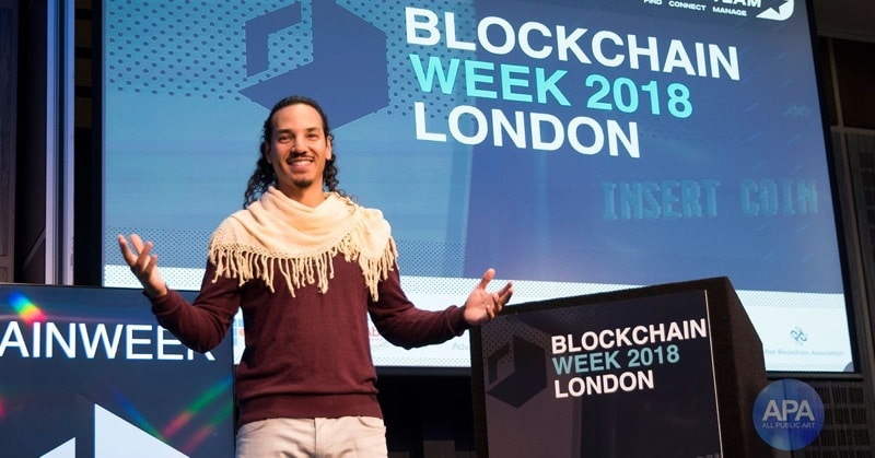 Graham Goddard at the London Blockchain Week