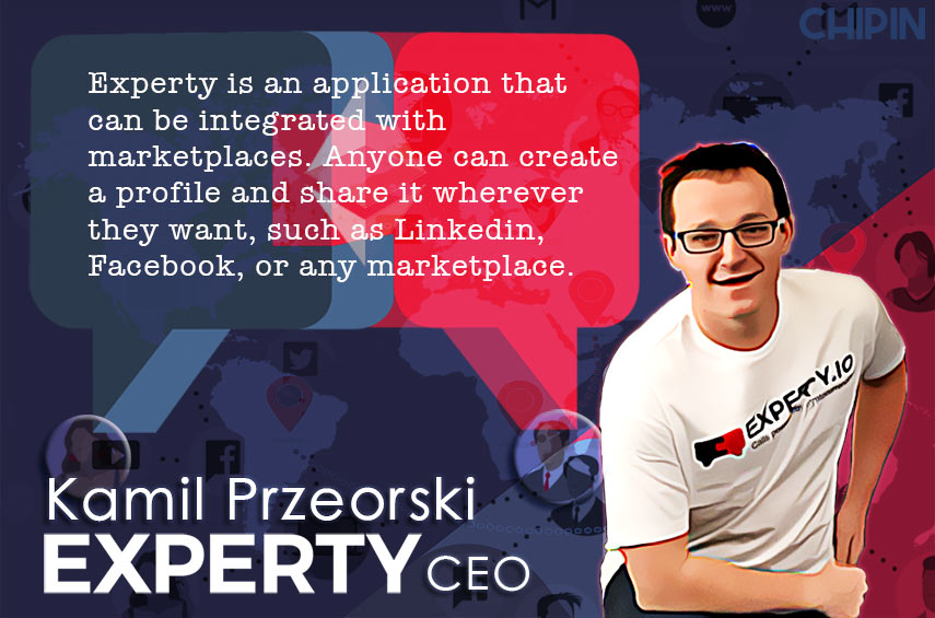 Smart contracts are essential to the functionality of Experty
