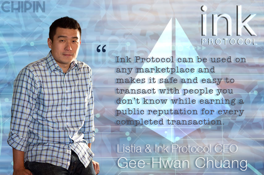 Ink Protocol Interview Gee Hwan Chuang CEO