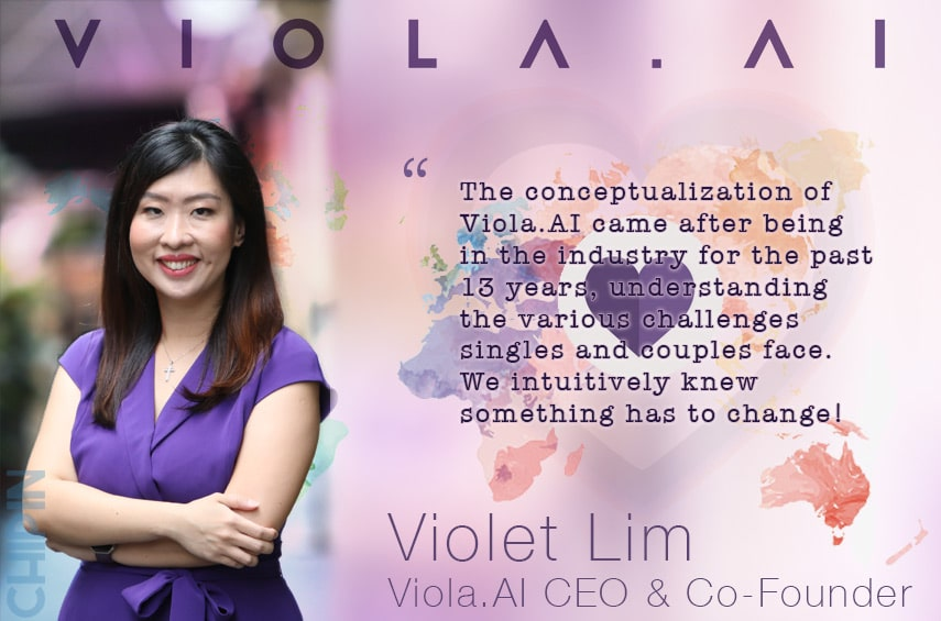 Viola.AI CEO Interview Violet Lim