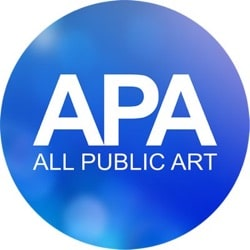 all public art logo