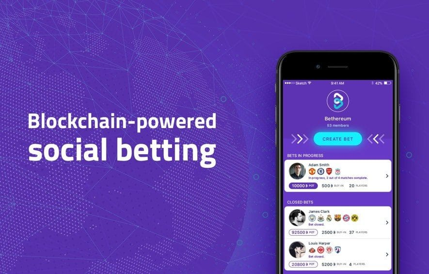 Bethereum ICO Blockchain Social Betting