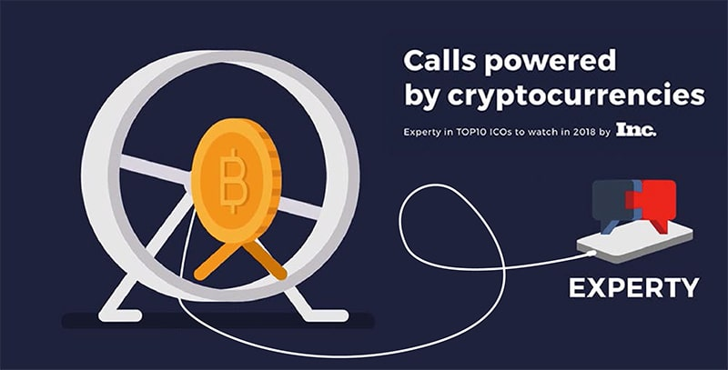 experty calls-powered-by-cryptocurrencies