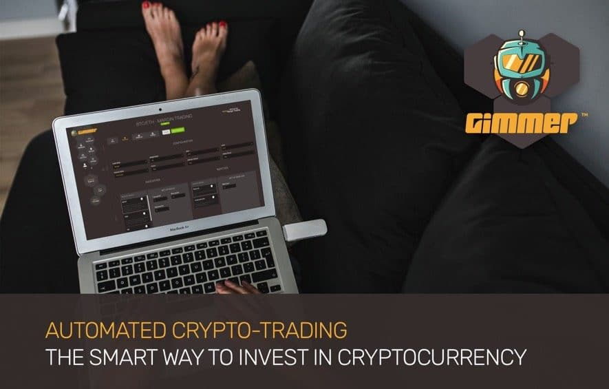 gimmer ico automated crypto trading
