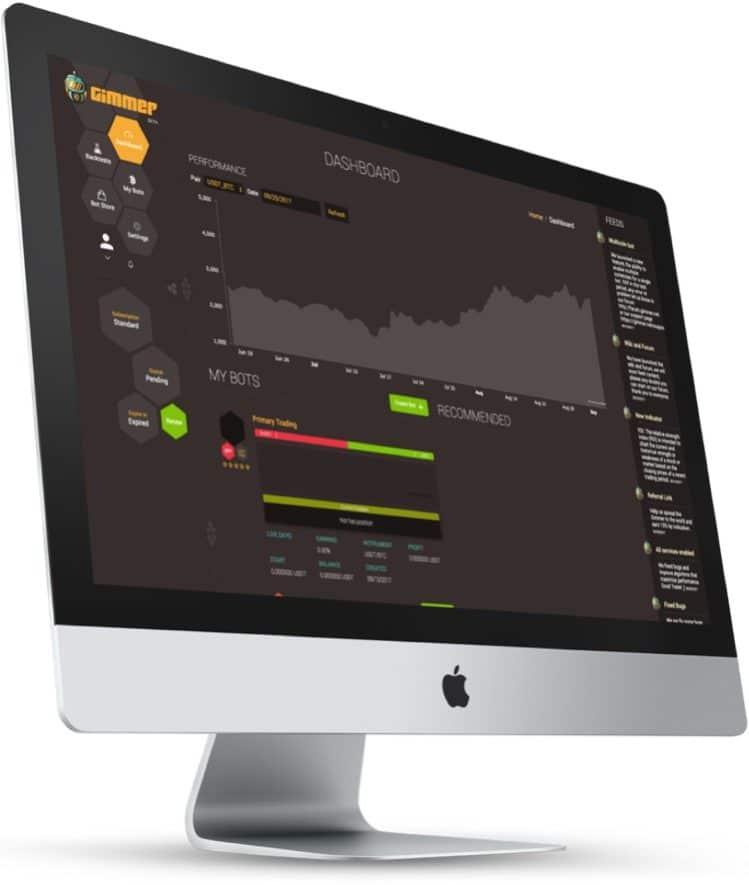 gimmer ico desktop trading bot