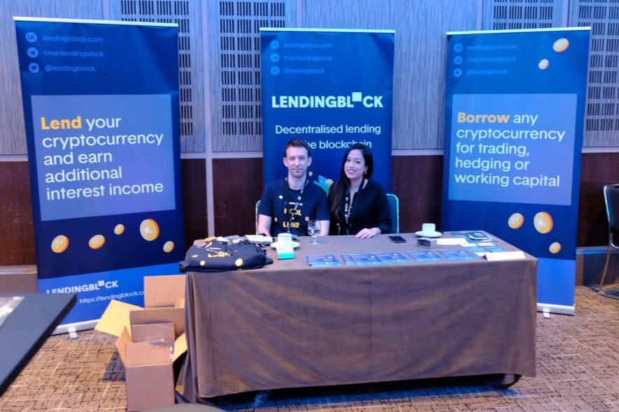 lendingblock blockchain week london